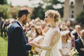 Idyllic Outdoor Weddings in Somerset - Pennard House