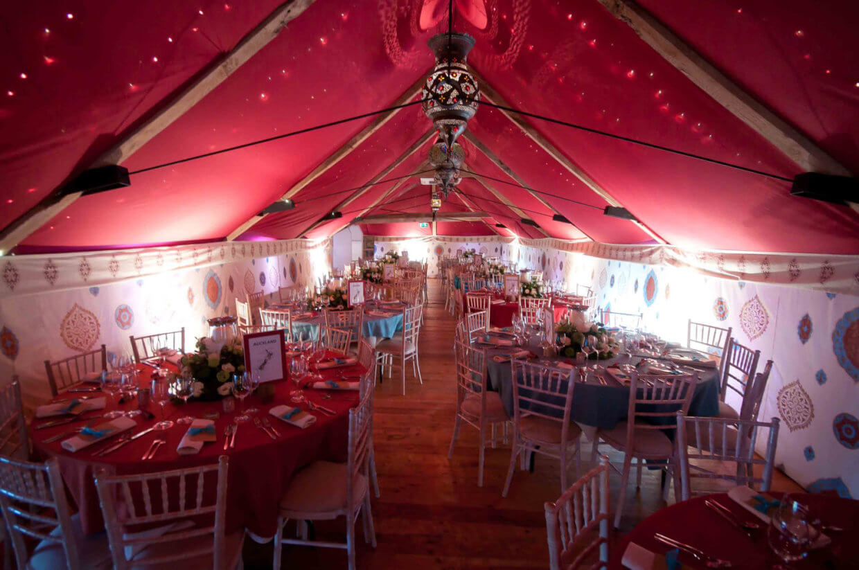 Photos Of The Wedding Reception Venue At Pennard House