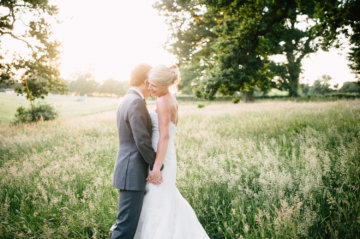 Outdoor Wedding Receptions in Somerset - Pennard House