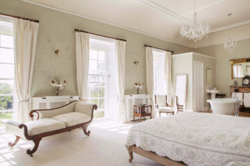 Photographs of the Country House at Pennard House in Somerset