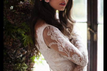 Temperley Bridal Autumn Inspiration Shoot at Pennard House, Somerset