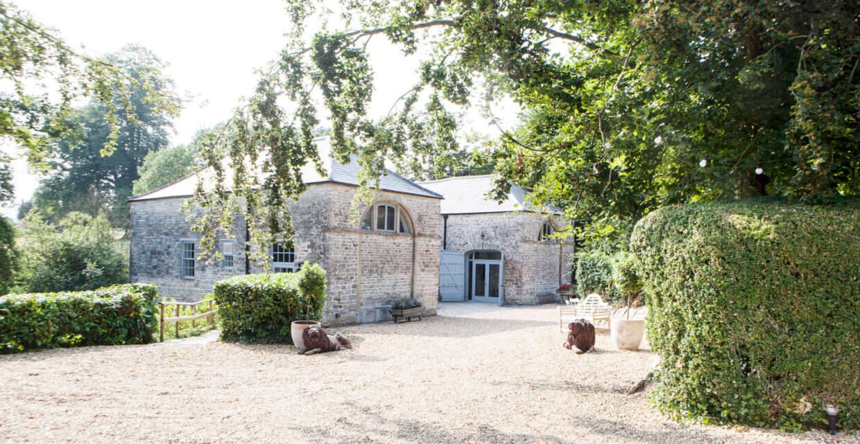 Photos Of The Wedding Reception Venue At Pennard House