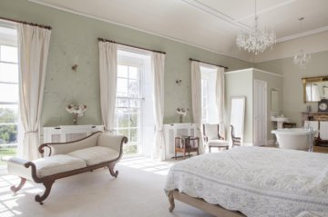 Photographs of the manor at Pennard House in Somerset